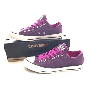 Converse Purple Chuck Taylor All Star Size 7 EUC!